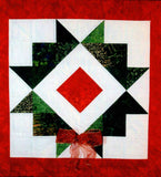Charmed Square in a Star Quilt Block Pattern