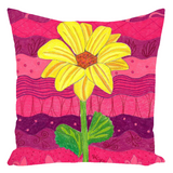 Pink Light Throw Pillows