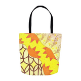 Yellow Sun Tote Bags 13 inch 16 inch 18 inch Sizes