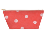 Coral Reef Dot Accessory Pouches