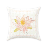 Buy Peach Lotus Flower Throw Decorative Pillows at Raspberry Lane Crafts