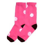 Snail Shell Dot Socks