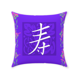 Buy purple throw pillows at Raspberry Lane Crafts