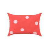 Coral Reef Dot Throw Pillows