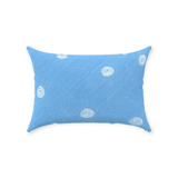 Sea Water Dot Throw Pillows