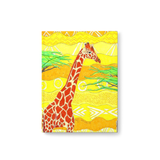 Forest Giraffe Hard Cover Journals
