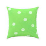 Parrot Green Dot Decorative Pillows for Sale at Raspberry Lane Crafts