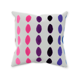 Yucatan Niebla Throw Pillows
