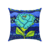 Buy Blue Throw Pillows for Home Decorating