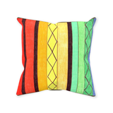 Buy Colorful Striped Pillows at Raspberry Lane Crafts
