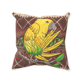 Yellow Parrot Accent Pillow Golden Conure for Sale at Raspberry Lane Crafts