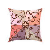 Shell Speck Throw Pillows