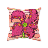 Great throw pillows for tweens for sale.  Peach Berry Throw Pillows