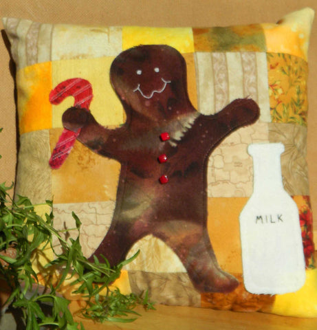 Sweet Ginger Man Pillow Pattern
