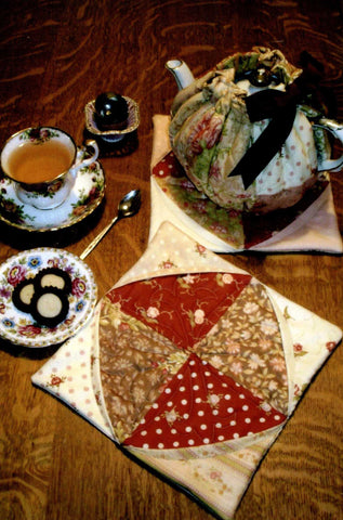 Tea Cozy, Mat/Potholder Sewing Pattern
