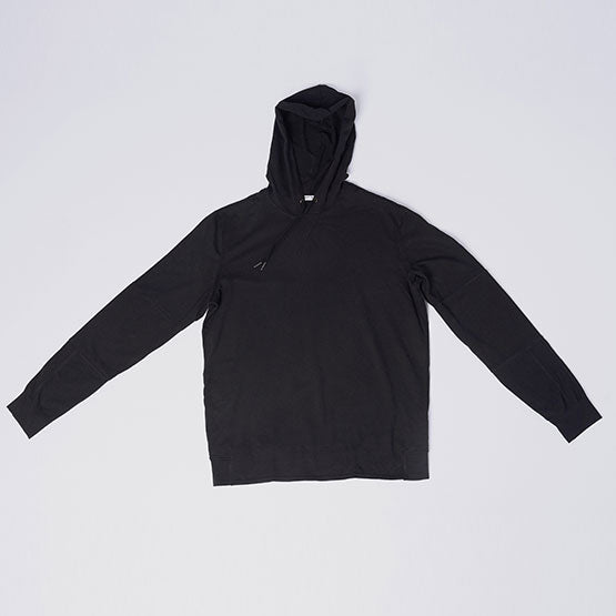 Black Stretch Pullover Hoodie - Sweat Tailor