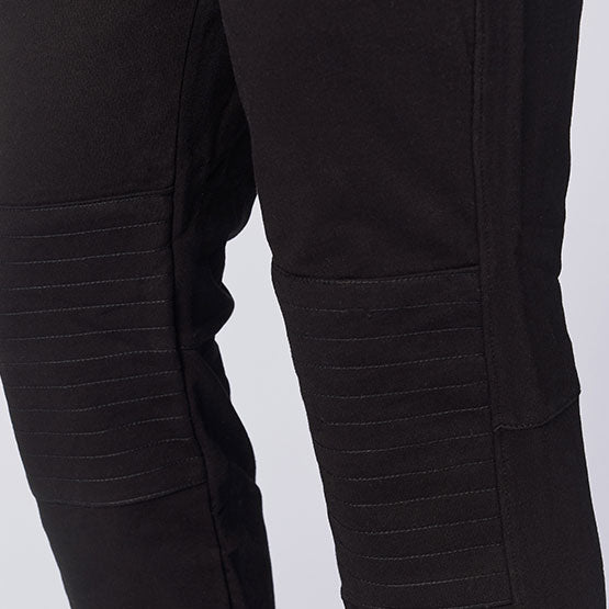 Charcoal Grey Tailored Moto Joggers
