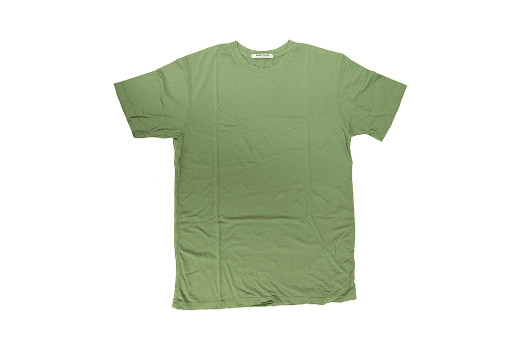 Sage Green Bamboo Cotton Crew