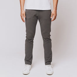Grey 5 Pocket Pants