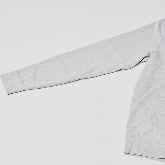 Heather Grey Stretch Pullover Hoodie