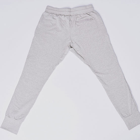 Heather Grey Stretch Tailored Joggers - Sweat Tailor