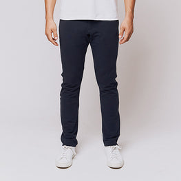 Navy 5 Pocket Pants