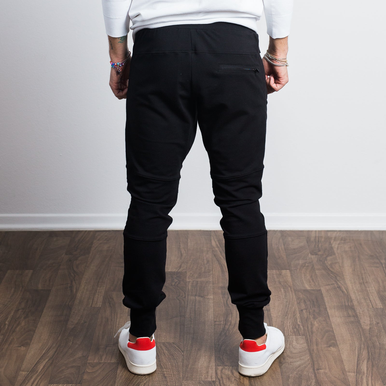Black Stretch Tailored Joggers - Sweat Tailor