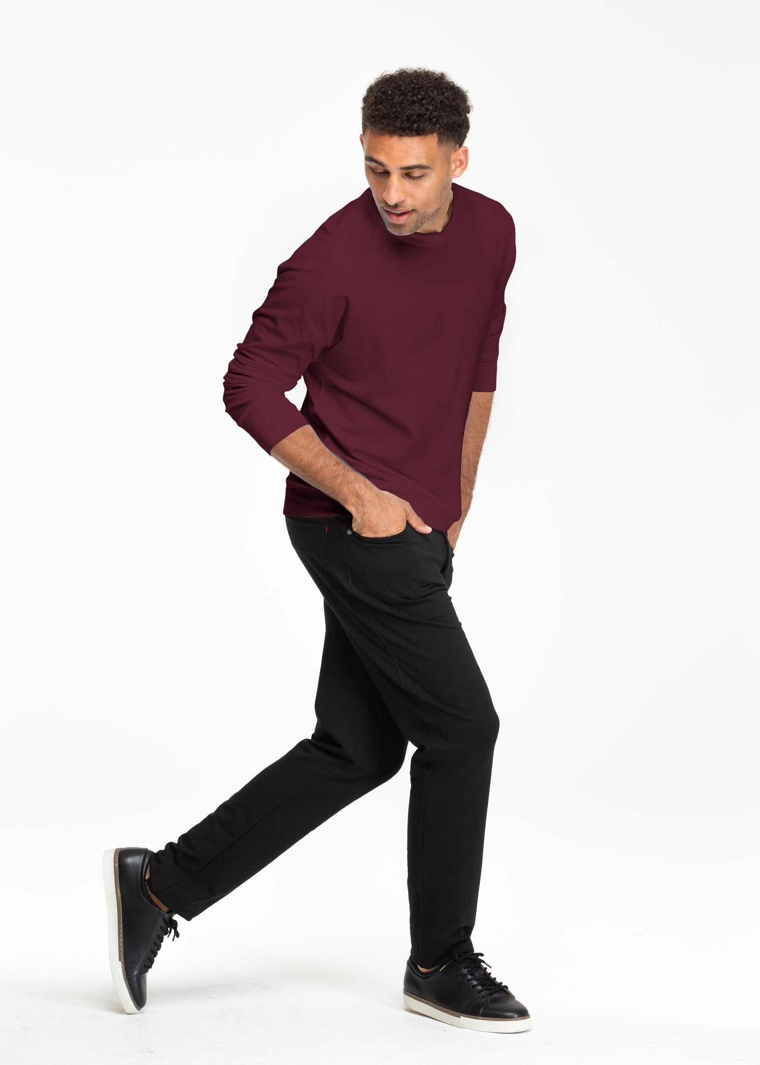 SWET-Shirt | Oxblood - Sweat Tailor