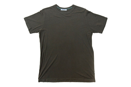 Dark Green Bamboo Cotton Crew