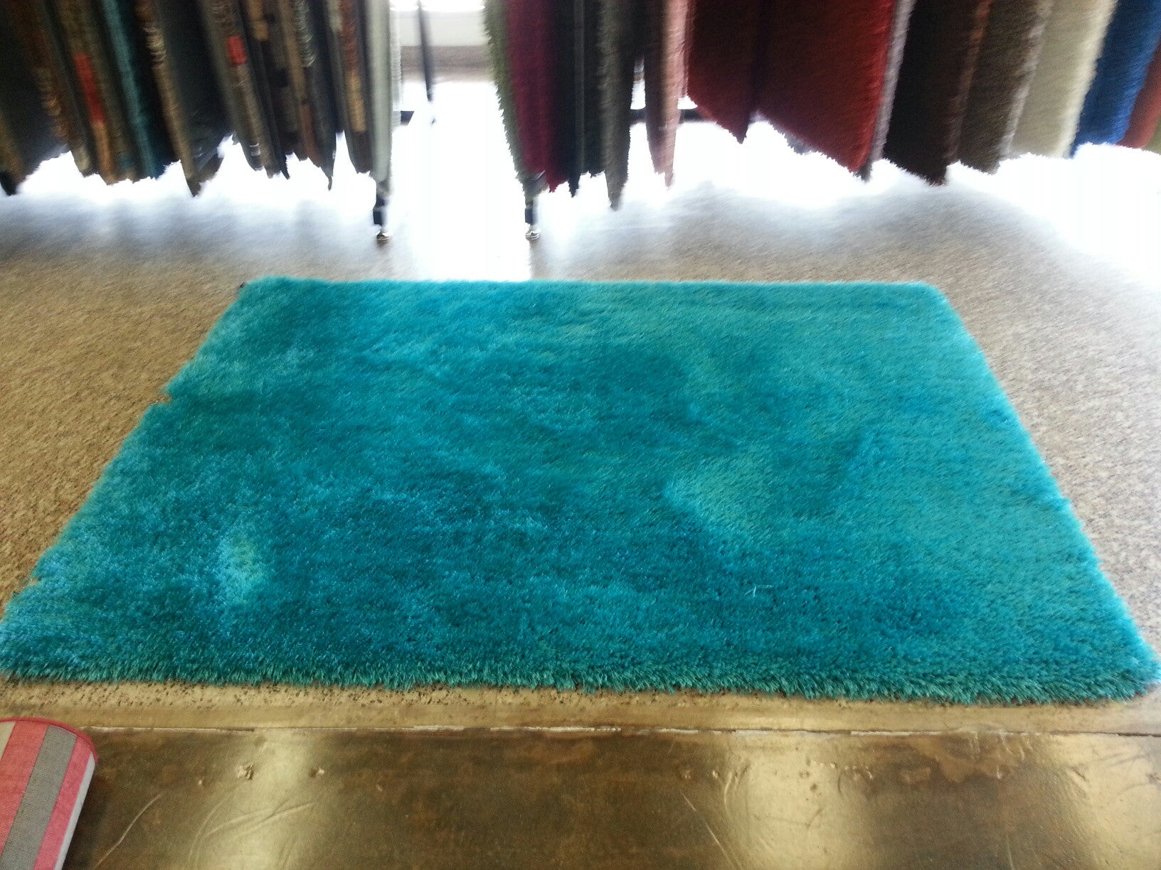 turquoise shag rug. 3-Piece Set | IN SINGLE SOLID VIBRANT TURQUOISE SHAG RUG , Turquoise Shag Rug