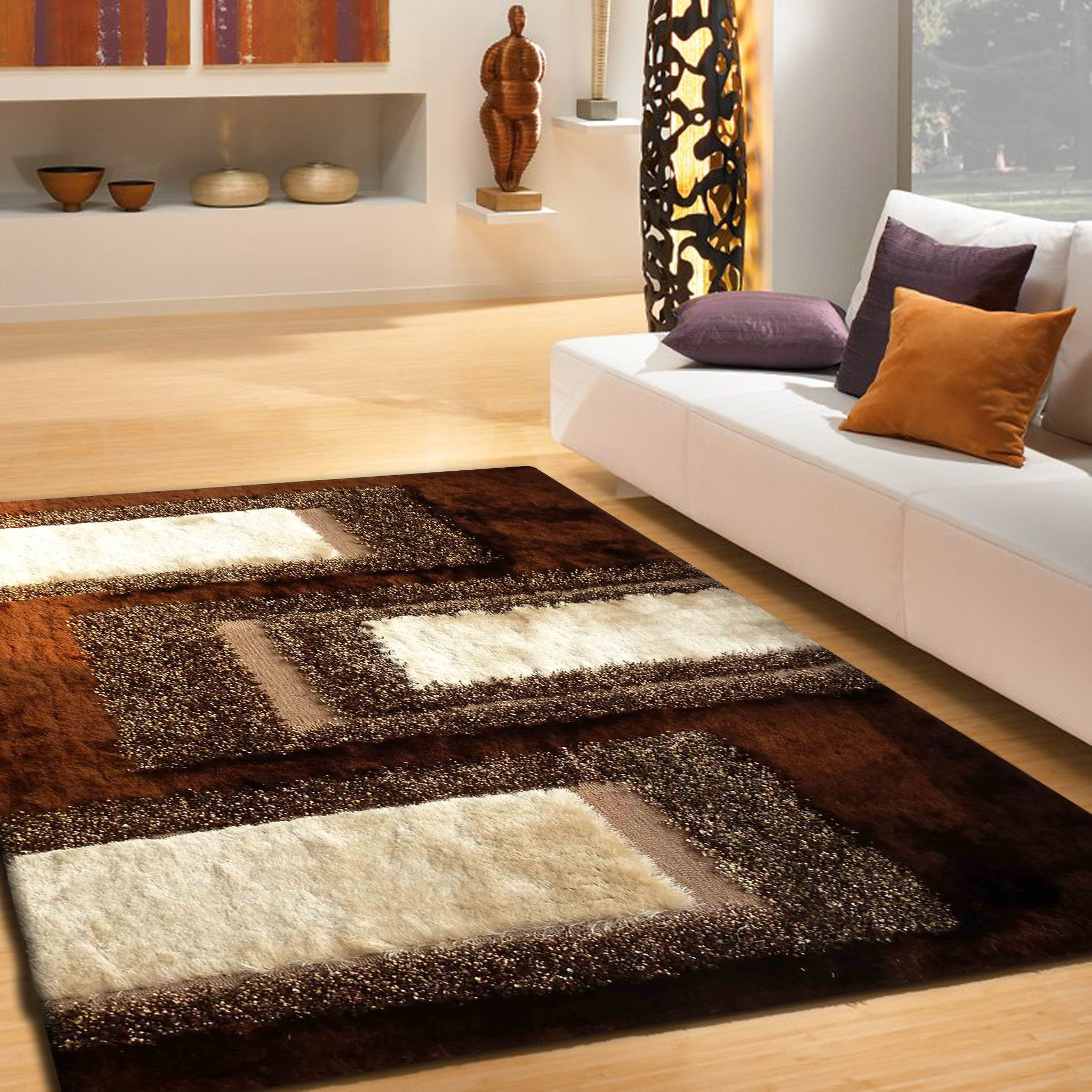 Brown Shag Rug Rug Addiction