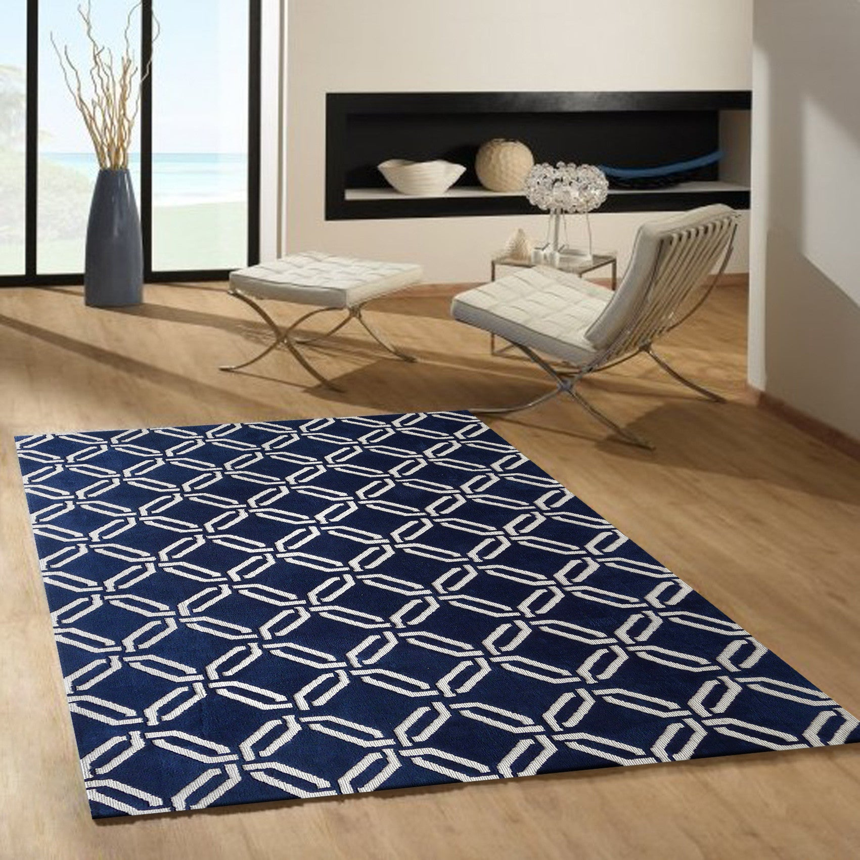 navy blue reviews evelyn pdp rugs rug joss main area