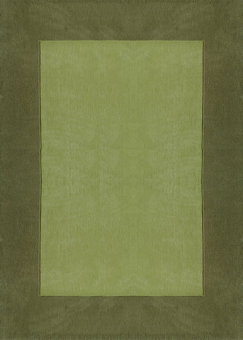 Solid Green Indoor Area Rug