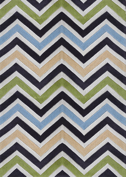 Green geometric contemporary indoor area rug rug addiction for Geometric print area rugs