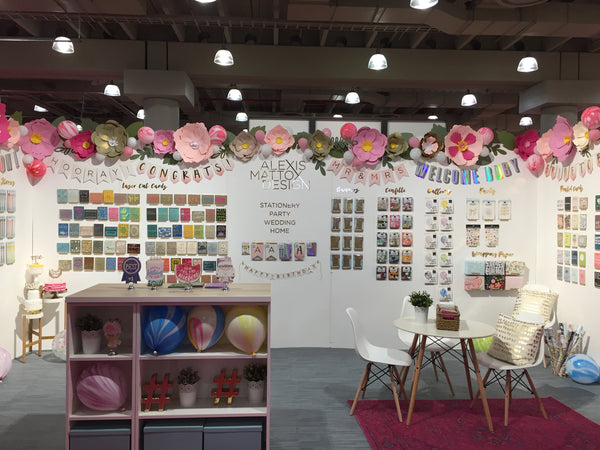 Alexis Mattox Design at the National Stationery Show