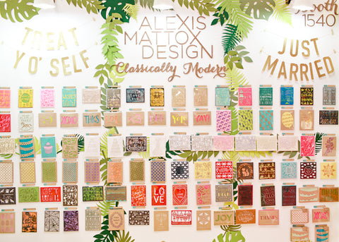 national stationery show recap 2015 alexis mattox design