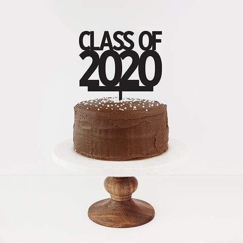 Class of 2020 Cake Topper