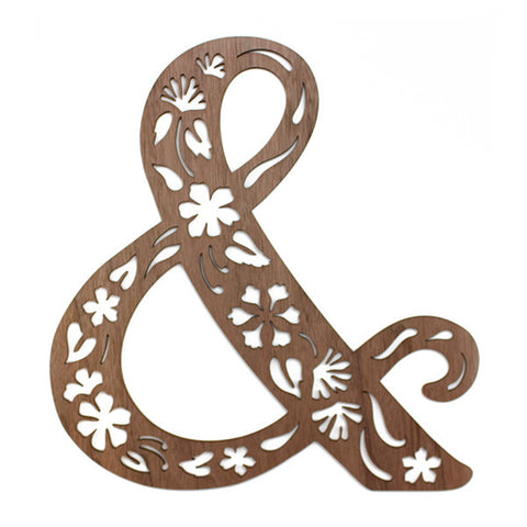 Wildflower Ampersand