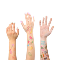Summer Temporary Tattoos