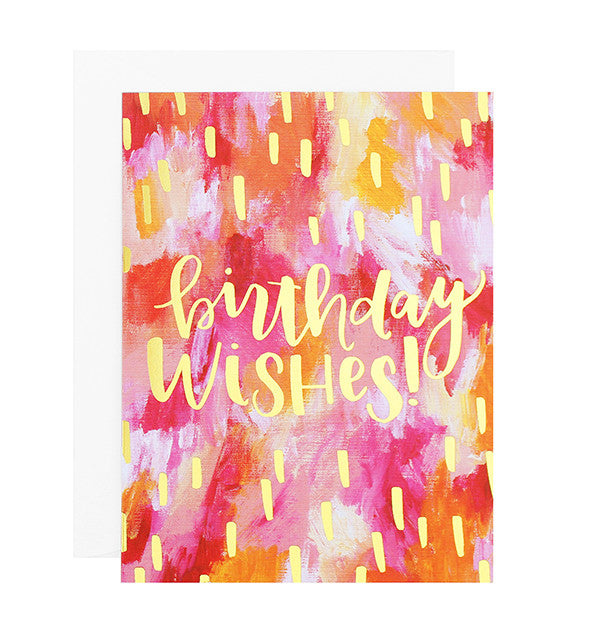 Birthday Wishes Foil Card