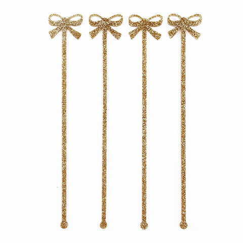 Bow Drink Stirrers