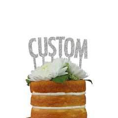 Custom Cake Topper- Individual Letters