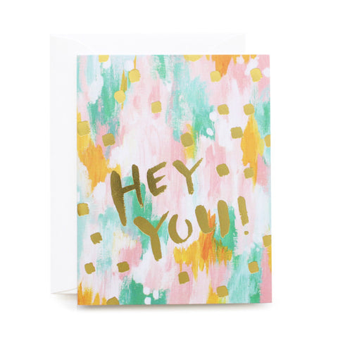 Hey You! Foil Card
