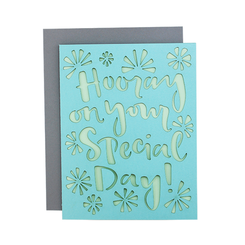 Special Day Laser Cut Card