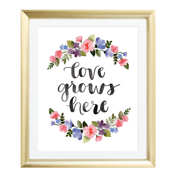 love grows here, quotes, beautiful things