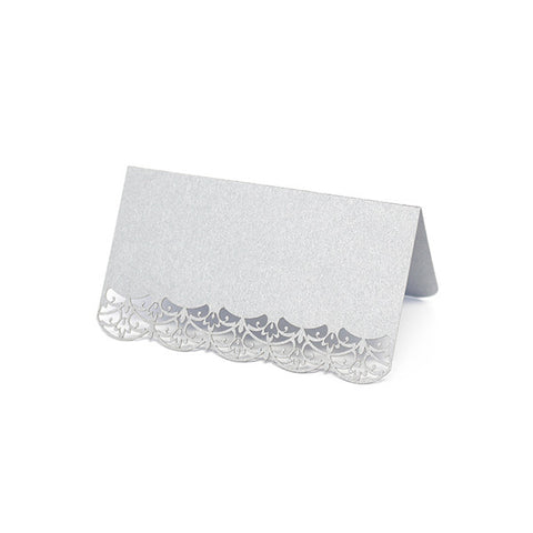 Lace Laser Cut Place Cards