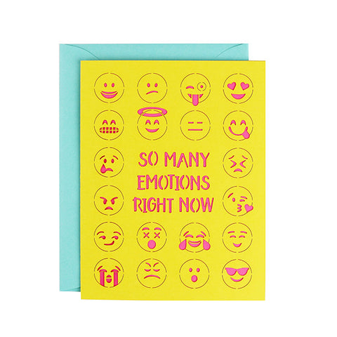 Emoji Laser Cut Card