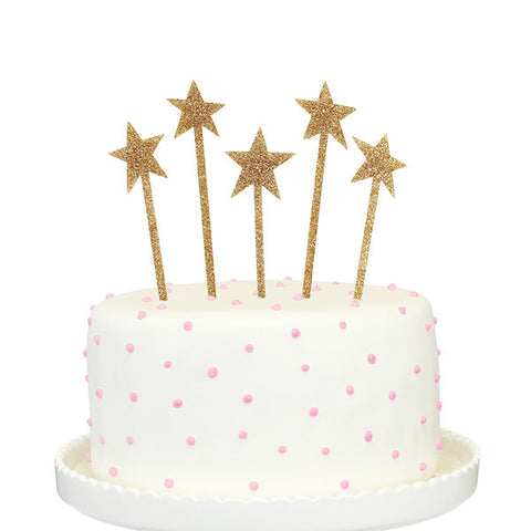 Shooting Stars Cake Topper