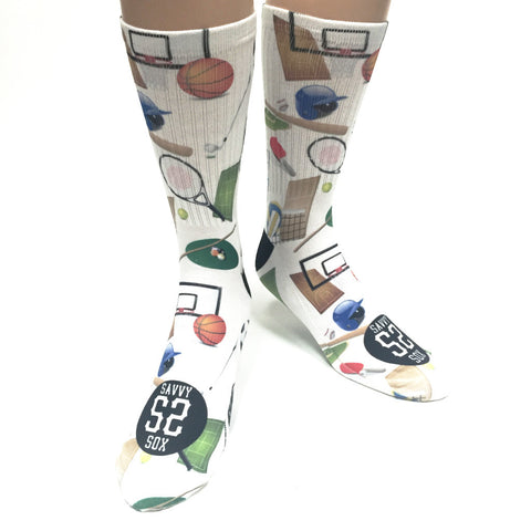 Olympic Sports Socks - SavvySox - 1
