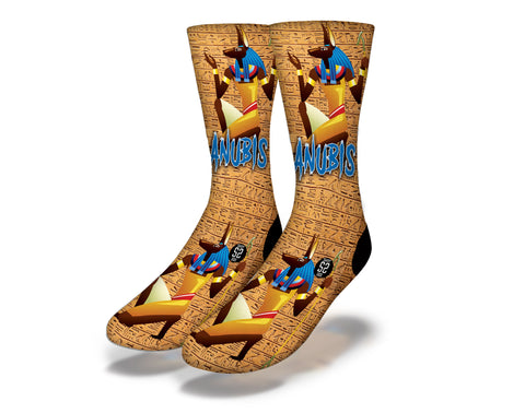 Anubis Egyptian God Socks
